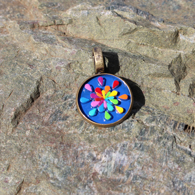 ColorBurst Pendant