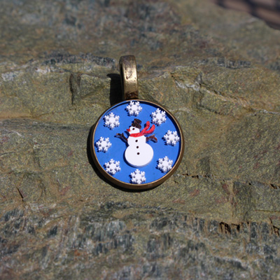 Magical Snowman Pendant