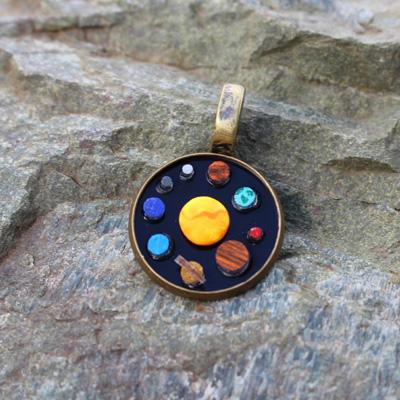 Solar System Pendant