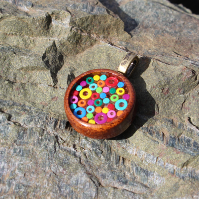 Rainbow Bubbles Pendant